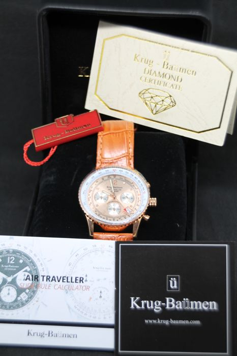 Krug-Baümen - Air Traveller Diamond - 400704DS - Uomo - 2011-presente