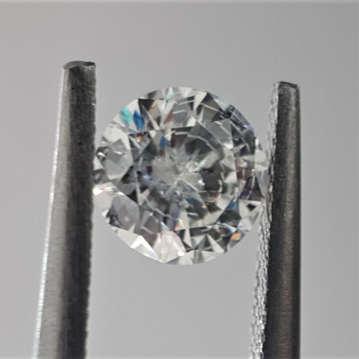 0.53ct Natural Round Brilliant Cut Diamonds E SI1 - No Reserve!