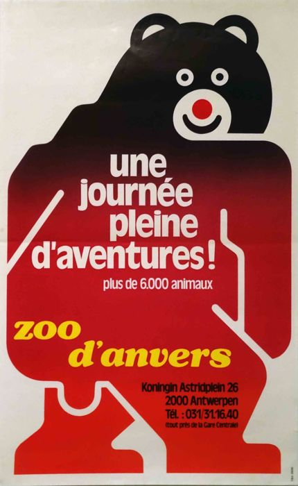 Anonymous - Zoo Antwerpen A day full of adventures, more than 6,000 animals - 1982