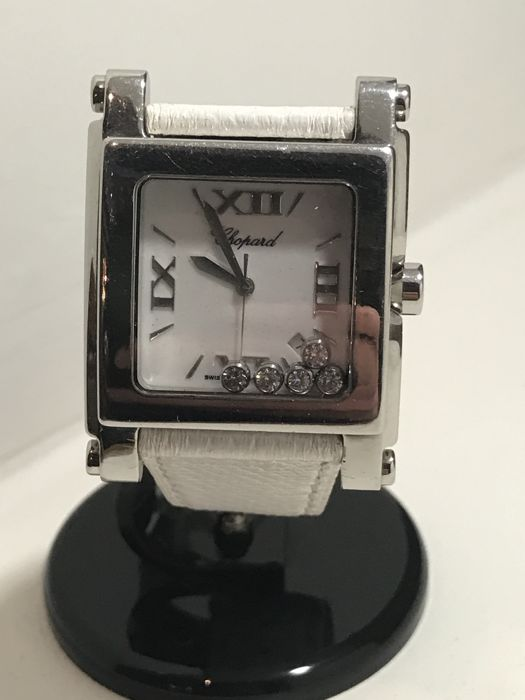 Chopard - Happy Sport Square XL -  288447-3001 - Dames - 2011-heden