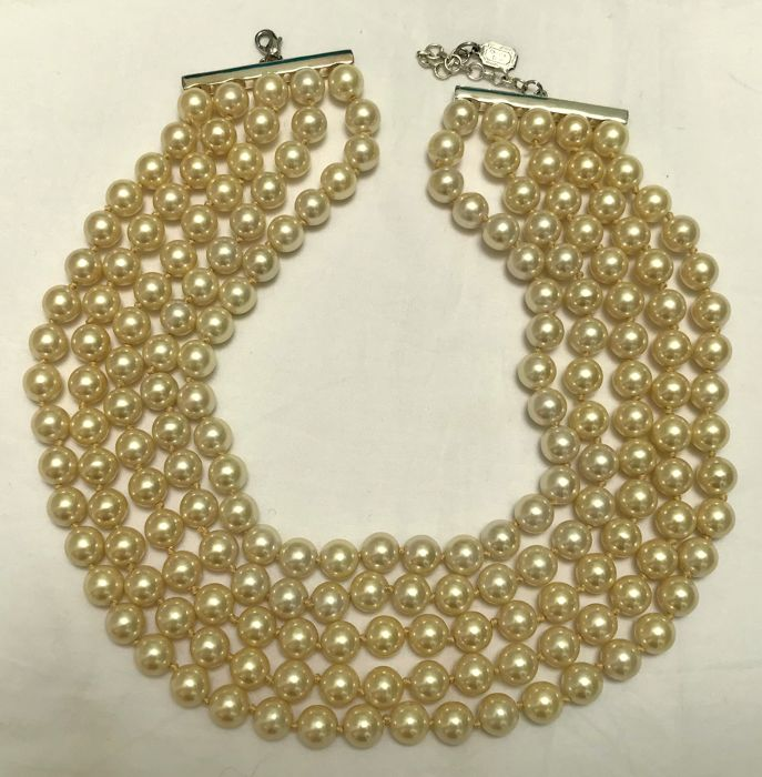 new style quality products wholesale dealer Christian Dior - collana di perle - Vintage - Catawiki