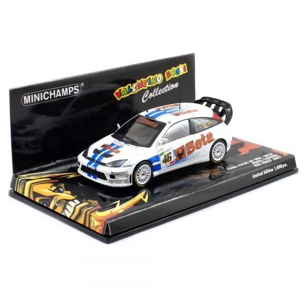 MiniChamps - 1:43 - Ford Focus RS WRC 'Beta' #46 RAC Monza Rally 2007 - Limited Edition o 1.008 pz.