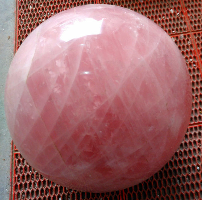 Beautiful Rose quartz sphere - 10.5 kg - 200 mm in diameter