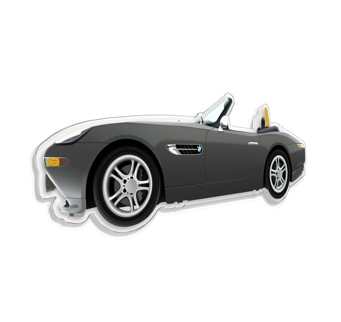 SL - Wall Scale Model Halmo Collection Bmw Z8