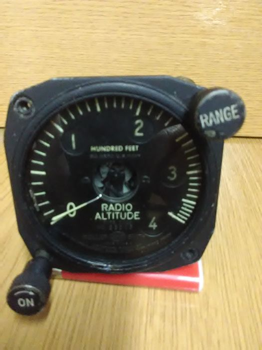Former unit of aircraft pressure Gage (RADIO ALTITUDE). American