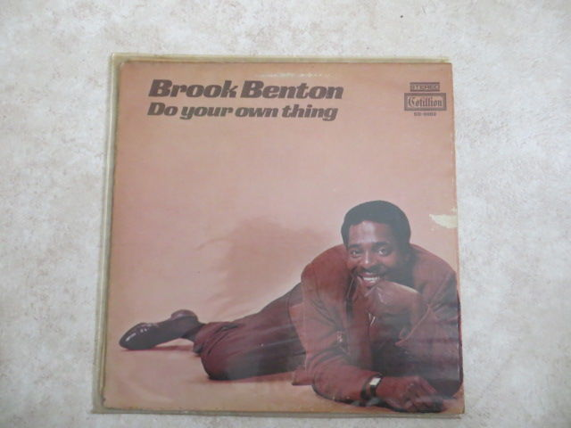 SOUL - BROOK BENTON lot of 14 LP's  from the sixties and early seventies