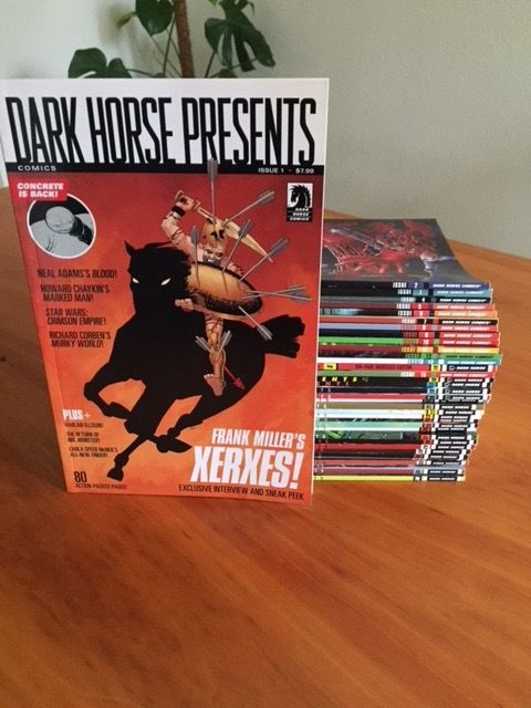 Complete year Dark Horse Presents - Volume Two 2011 - 2014 - 36 issues incl. Hellboy, Concrete & Witchfinder