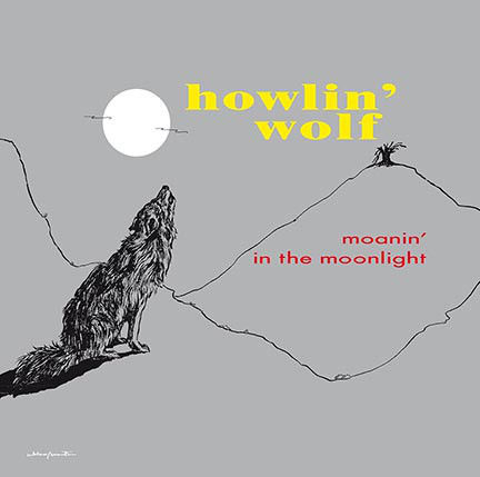 4 Albums byHowling Wolf all on 180 Grams Vinyl, Moanin' In The Moonlight, Howlin' Wolf, More Real Folk Blues,  Big City Blues