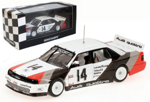 Minichamps - Scale 1/43 - Audi 200 Quattro #14 Winner Trans-Am Weekend Cleveland 1988