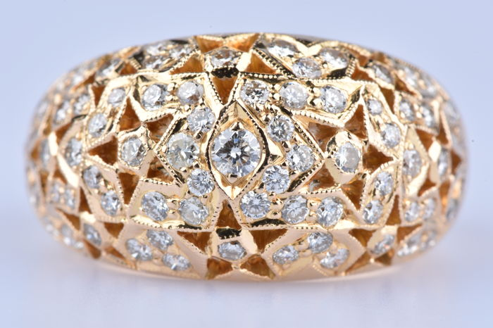 18 kt Gold - Ring Diamant