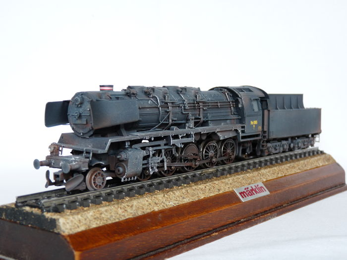 Märklin H0 - 37834 - Steam locomotive with tender - Class N, patinated version - DSB