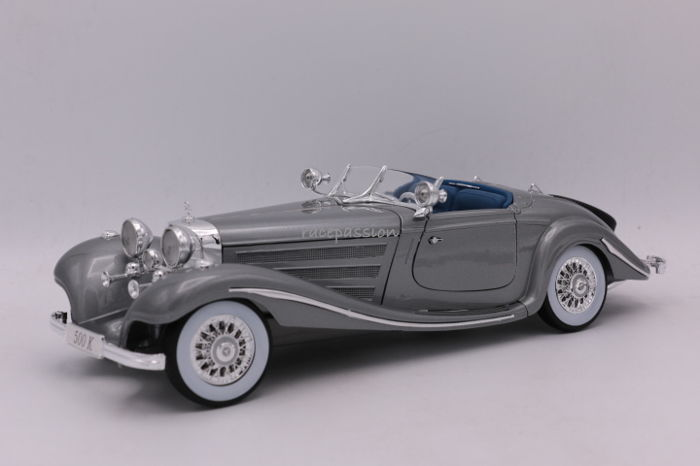 Maisto - Scale 1/18 - Mercedes Benz 500 K - Special Roadster - 1934-1936 - Premiere Edition