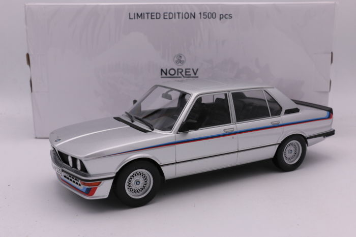 Norev - Scale 1/18 - BMW M535i - 1980 - Colour: Silver - Catawiki