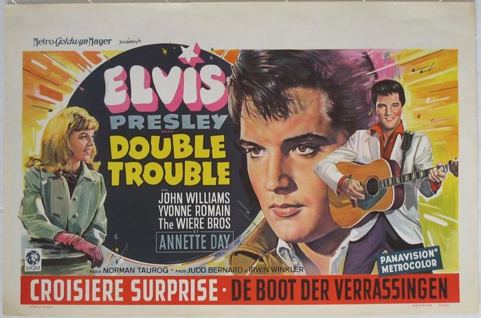 Double Trouble / Croisière surprise (Elvis Presley / Norman Taurog) - 1967