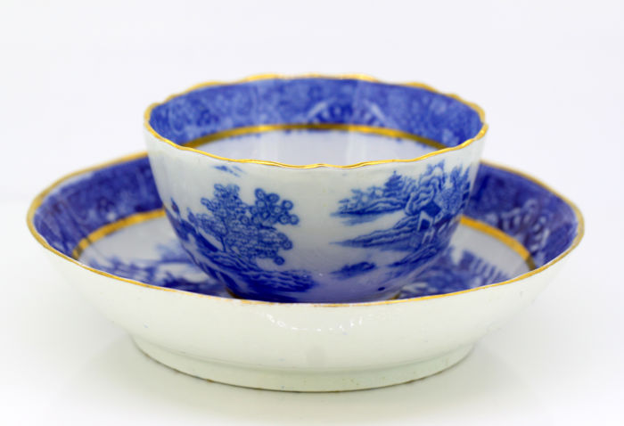 Antique Chinese Porcelain Cup & Bowl, Early 20th Century
