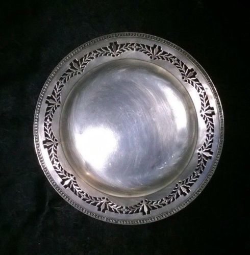 Tray in silver 800 - Italy - 1960s