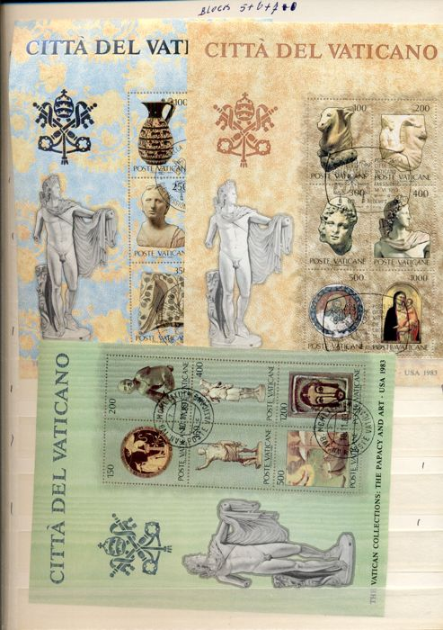 Vaticaanstad 1930/2000 - Stamps and First Day Envelopes