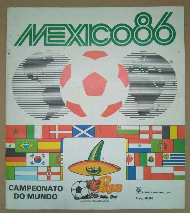 Panini - World Cup Mexico 1986 - Complete album.