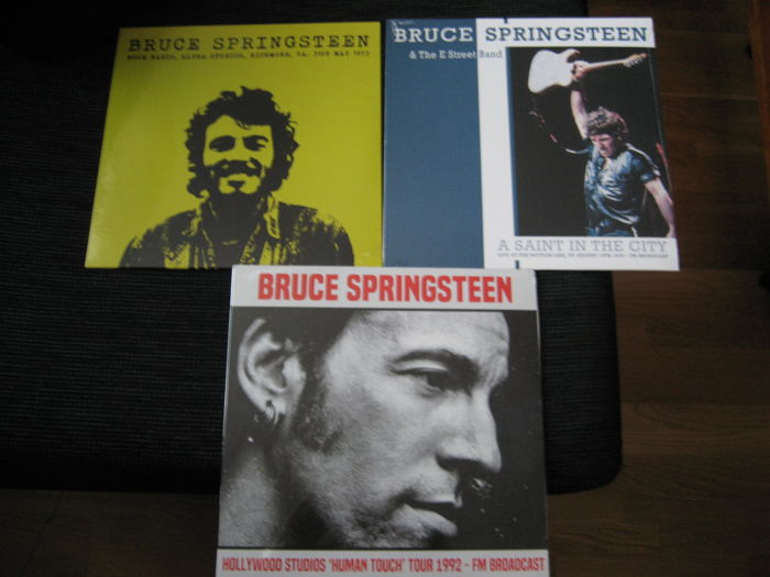 Bruce Springsteen 4 vinyl LP
