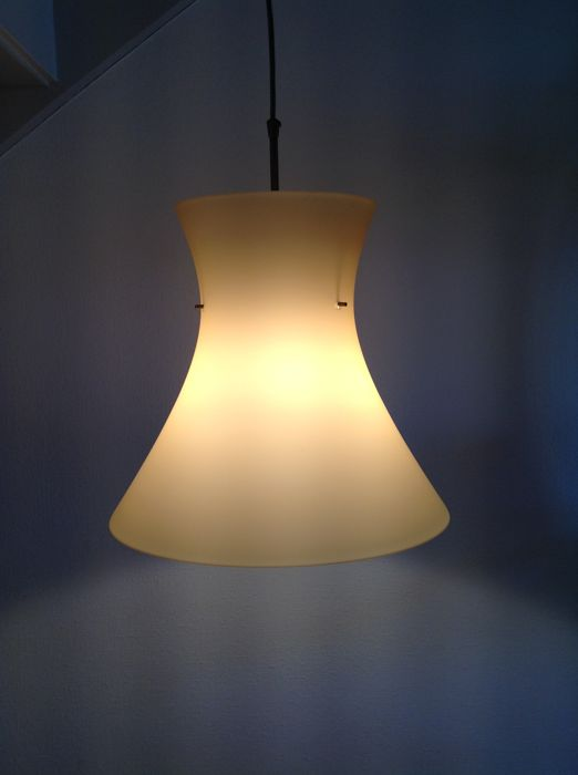 Design lamp - Steinhauer - glass hanging lamp / ceiling lamp