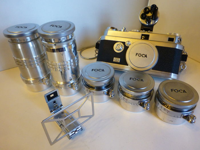 SLR Camera Collection Set FOCA Universel R