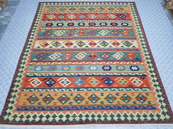 Turkish Kilim 297 cm x 244 cm