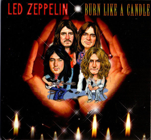 Led Zeppelin-Burn Like A Candle  3CD