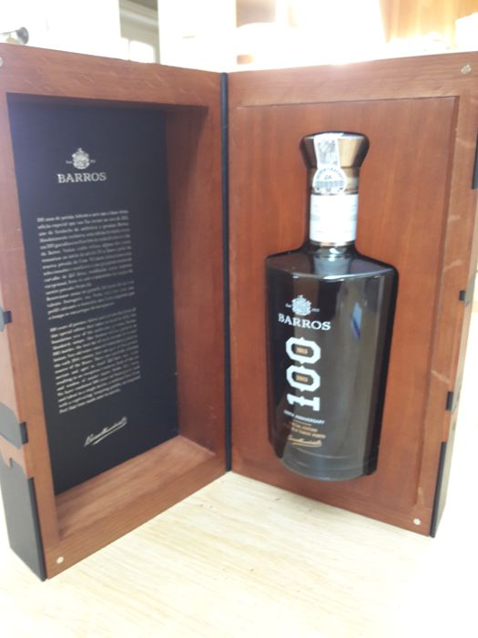 NV Barros Special Edition Tawny Port - 1913-2013 - 1 bottle in OWC