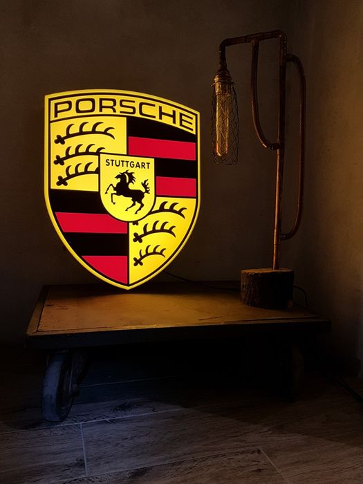 Decorative object - unique Porsche led lightbox - 2009-2010 (1 items)