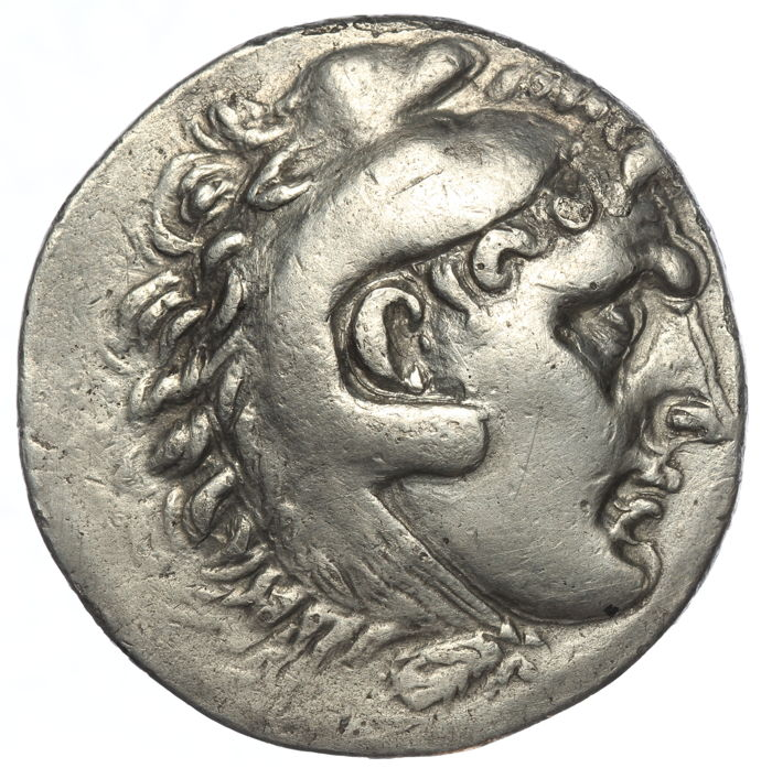 Greek Antiquity - Kings of Macedon. In the name of Alexander III the Great (336-323 B.C.). Lysimachos. 305-281 BC. AR Tetradrachm, struck circa 295/4-289/8 BC. Ephesos mint