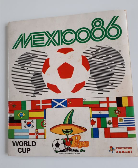 Panini - World Cup Mexico 86 - Compleet album.