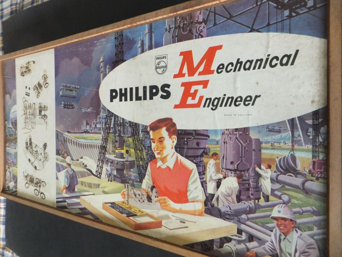 Vintage Philips - Mechanical Engineer 1200