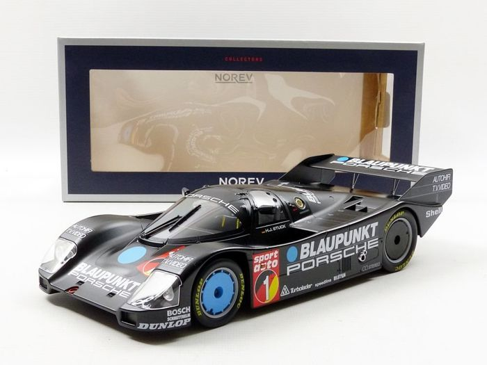 "Norev - Scale 1/18 - Porsche 962 C# 1 - Winner ADAC Nürburgring 1986 - Super Sprint ""H.-J. Stuck"""