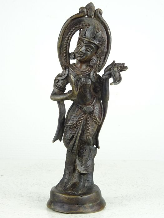 Bronze figure of a Nat - Myanmar - middle of the 20th century