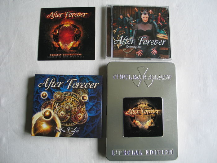 After Forever , Lot Of 4 CD's and 2 DVD's