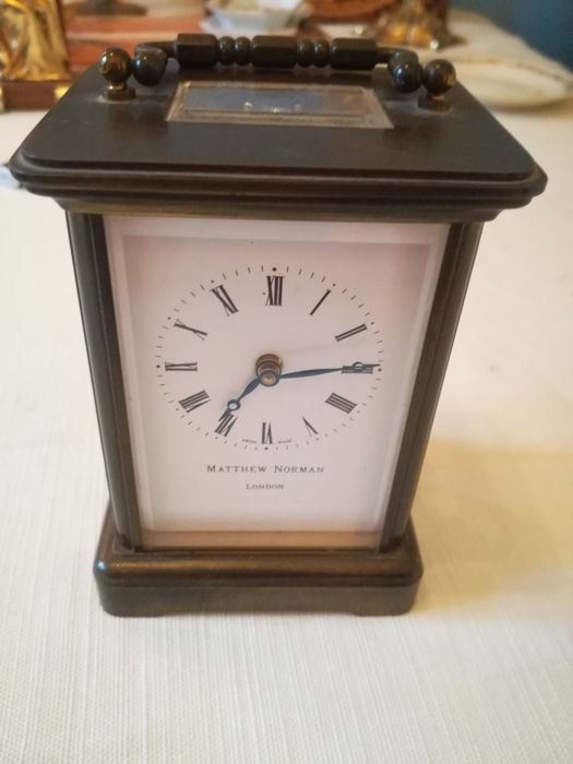 Vintage table clock - Matthew Norman - 1970s