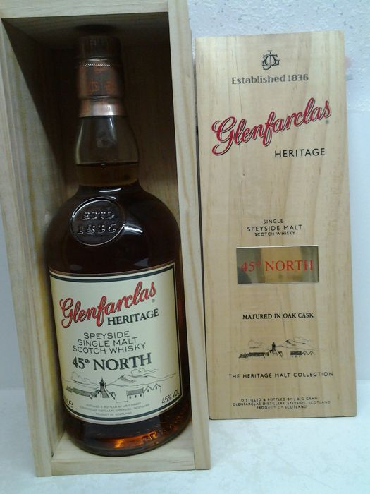 Glenfarclas The Heritage Malt Collection 45° North