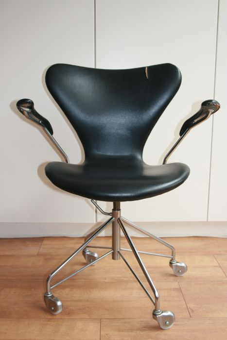 Arne Jacobsen Voor Fritz Hansen 3217 Swivel Office Chair Catawiki