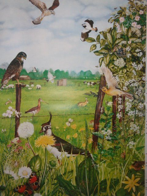 "Very nice school poster ""The Meadow"""
