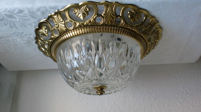 Plafoniere : Antique ceiling lamp chandelier plafoniere flush mount diameter