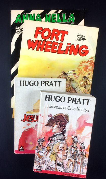 Pratt, Hugo - 4 volumes (1979-1991)