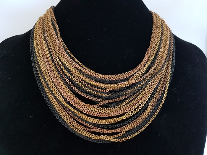 Kramer of New York early DIOR New York 1955-1960 - waterval ketting - Vintage