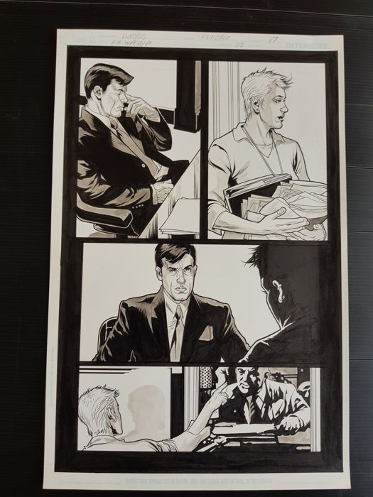 Tony Harris  - Original Art Page - Ex Machina #22 - Page 17 - (2007)