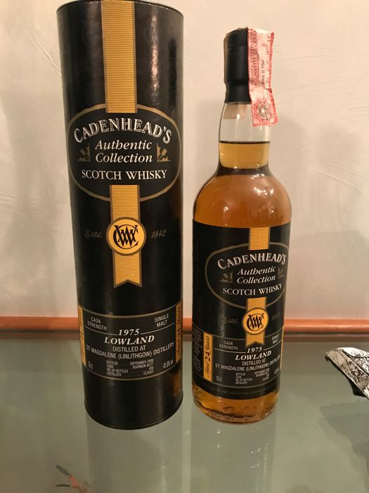 St. Magdalene (Linlithgow ) 24 years old 1975 - 41.6% 70 cl - Cadenhead's