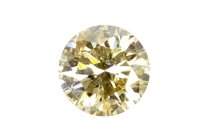 AIG Sealed Diamond  - 0.25 ct - Fancy Yellowish Brown , SI2 - * NO RESERVE PRICE *