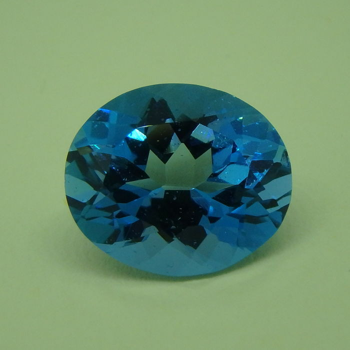 Swiss Blue Topaz - 8.84 ct * No reserve.*