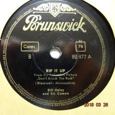 21 x 78 RPM Records with POP-Music from the 1950's