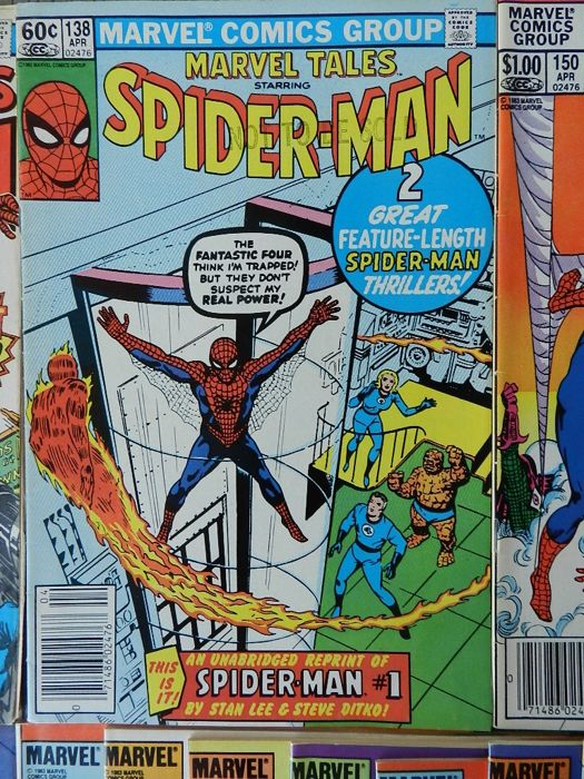 Marvel Tales Starring Spider-Man set 1 consisting of 51 issues - 51x (1981-1989)