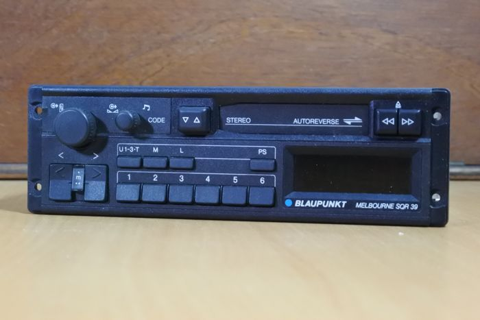 Blaupunkt Melbourne SQR 39 classic stereo radio cassette player for a young classic cars - 1988 - NO RESERVE