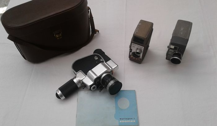 Lot of 3 cameras - Yashica / Bell & Howell / Gevaert Zoomex
